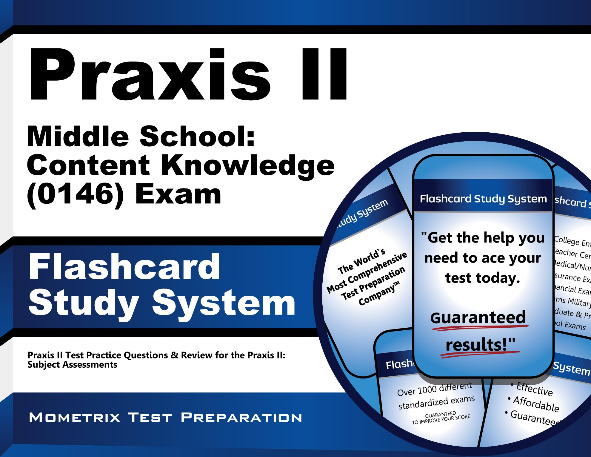 Download Praxis II Middle School: Content Knowledge (0146) Exam Flashcard Study System: Praxis II Test Practice Questions & Review for the Praxis II: Subject Assessments PDF