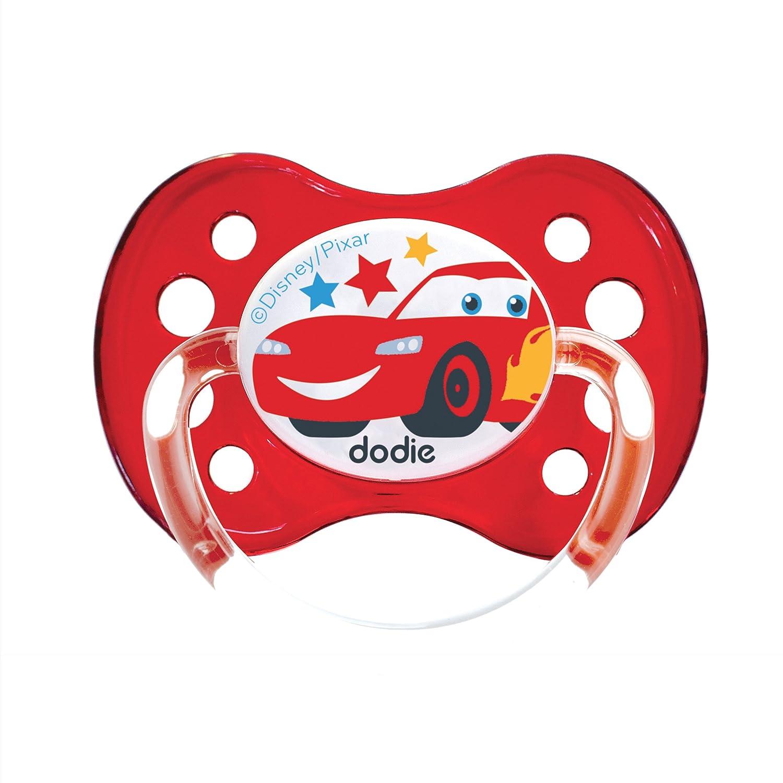 Dodie - Chupete anatómico Duo Cars A68 + 6 meses rojo Talla ...