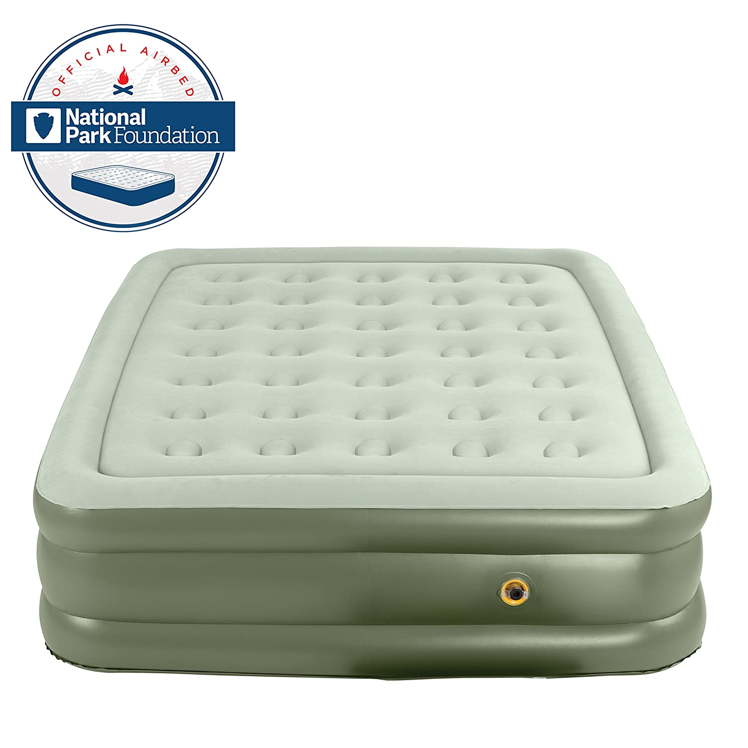 Coleman Support Rest Double High Airbed