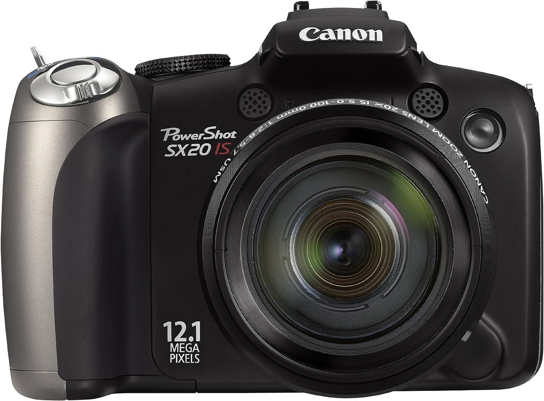 Canon Powershot Sx20 Is 20 Multiplier X Camera Photo
