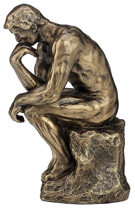 Thinker >> Amazon Com Rodin The Thinker Statue Fine Art Sculpture Male Nude