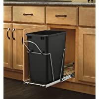 Rev-A-Shelf RV-12KD-18C S Single 35 Qt. Pull Out Waste Container