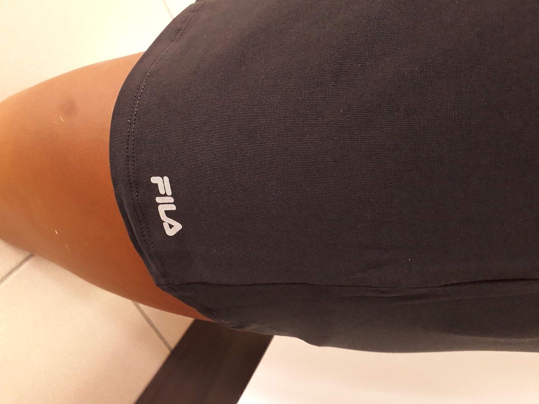 Fila T-Shirt Uomo FU5001 Collo a V Bianco Blu Grigio Nero