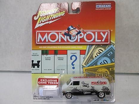 Johnny Lightning Monopoly 1977 Dodge Van 1:64