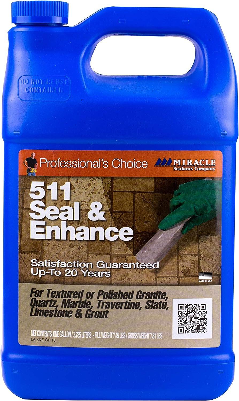 Miracle Sealants SEENGAL4 511 Seal & Enhance Color & Gloss Enhancers, Clear