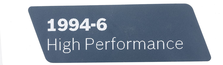 Bosch Parts 1601118R95 Nameplate