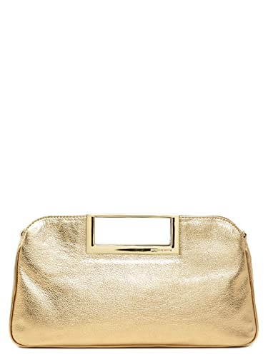 6283e0f2c486f8 Image Unavailable. Image not available for. Color: Michael Kors Berkley  Large Clutch in Pale Gold