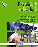 Fiscalidad individual (Economía Y Empresa) (Spanish Edition)