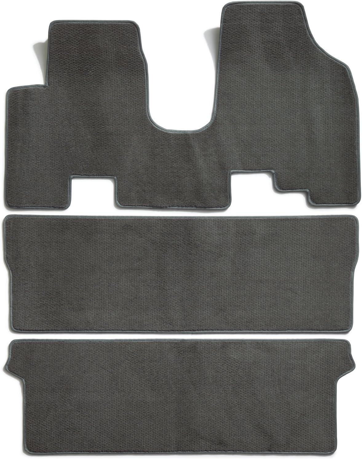 Premier Custom Fit 3-piece Set All One Piece Carpet Floor Mats for Honda Odyssey Premium Nylon, Gray 761977-47