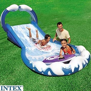 Intex Wasserrutsche Xxl 2 Aufblasbare Surfbretter Eingebaute