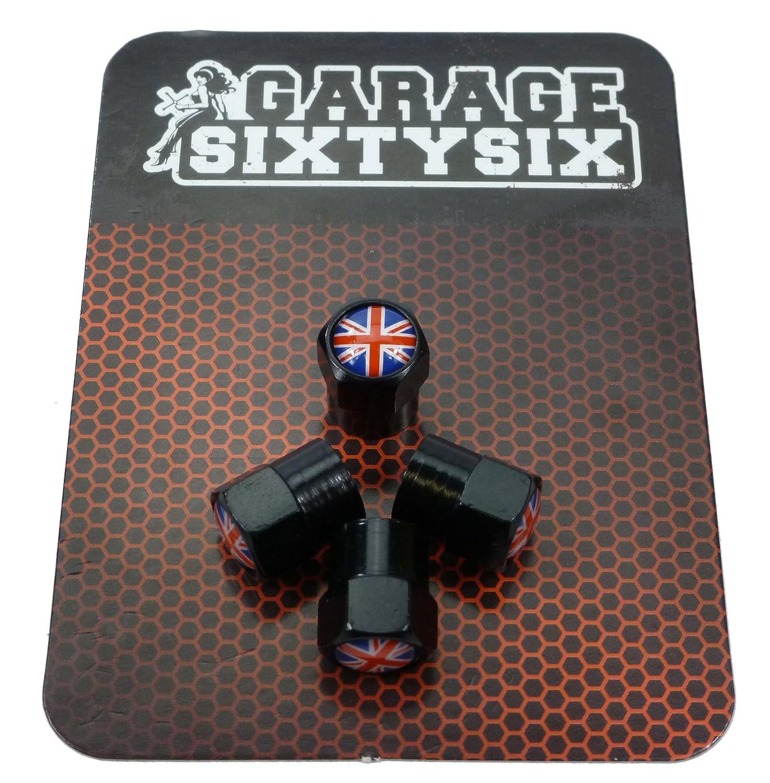 UK//4/Bouchons de valve en noir//Mod/èle Pittsburg