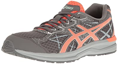 ASICS Women's Endurant Running Shoe, Carbon/Flash Coral/Silver, ...