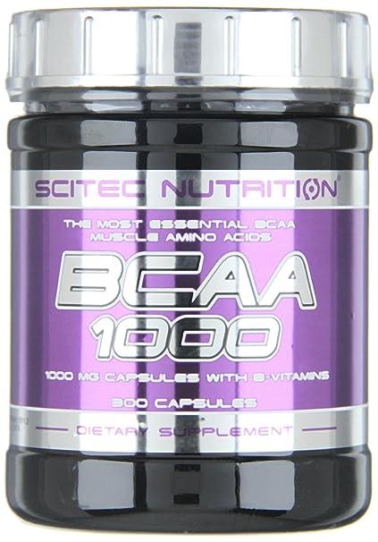 Amazon.com: Scitec Nutrition BCAA 1000 - 300 caps: Health & Personal Care