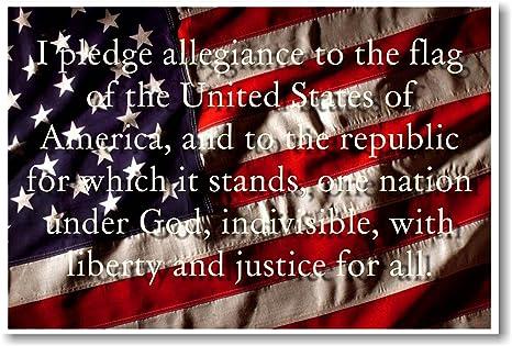 pledge of allegiance text