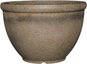 "Classic Home and Garden 52-039T Bellina 12"" Planter, Fossil Stone"