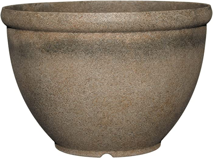 """Classic Home and Garden 52-039T Bellina 12"""" Planter, Fossil Stone"""