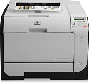 HP Laserjet Pro 400 M451dw Color Wireless Photo Printer (CE958A) (Discontinued by Manufacturer) (Renewed)