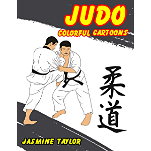 Judo Colorful Cartoon Illustrations