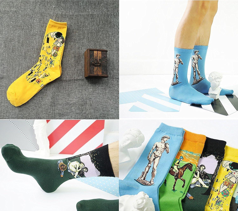 Garsumiss calze di lana,5 paia di calzini da donna cotone calzini termici dei calzini adulti Unisex Calze