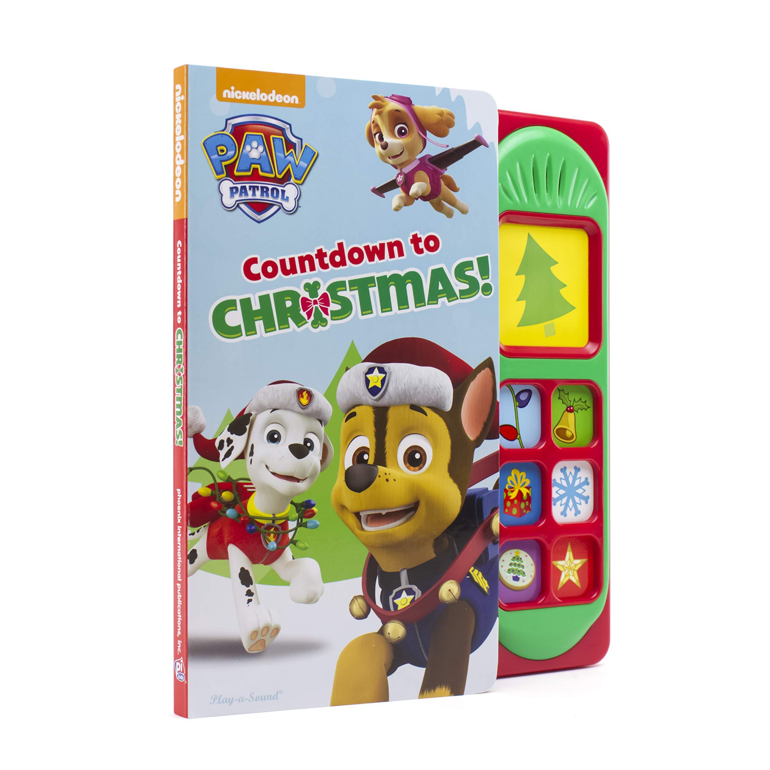 Nickelodeon Paw Patrol   Countdown to Christmas Sound Book   PI