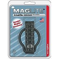 Maglite Basketweave Leather Belt Holder for D-Cell Flashlights, Black