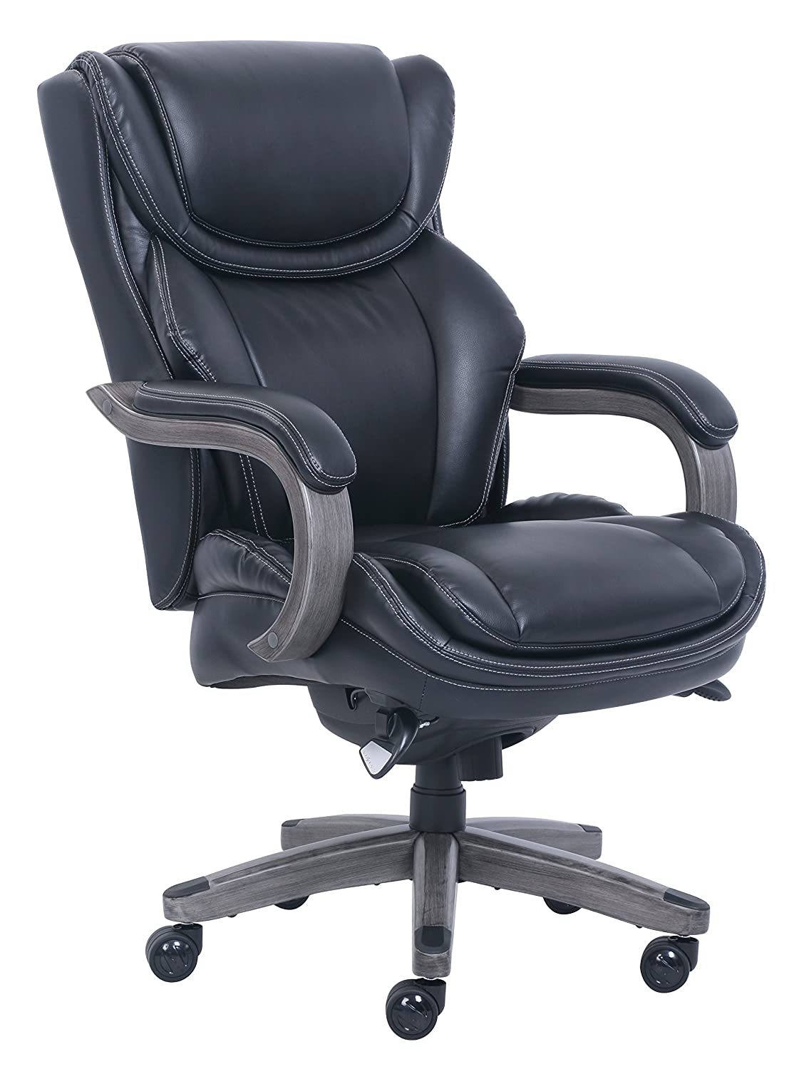 LaZBoyBig & Tall Executive Chair Bonded Leather, Black