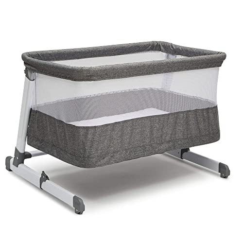 Simmons Kids Room2Grow 2-in-1 Newborn Bedside Bassinet Infant Sleeper