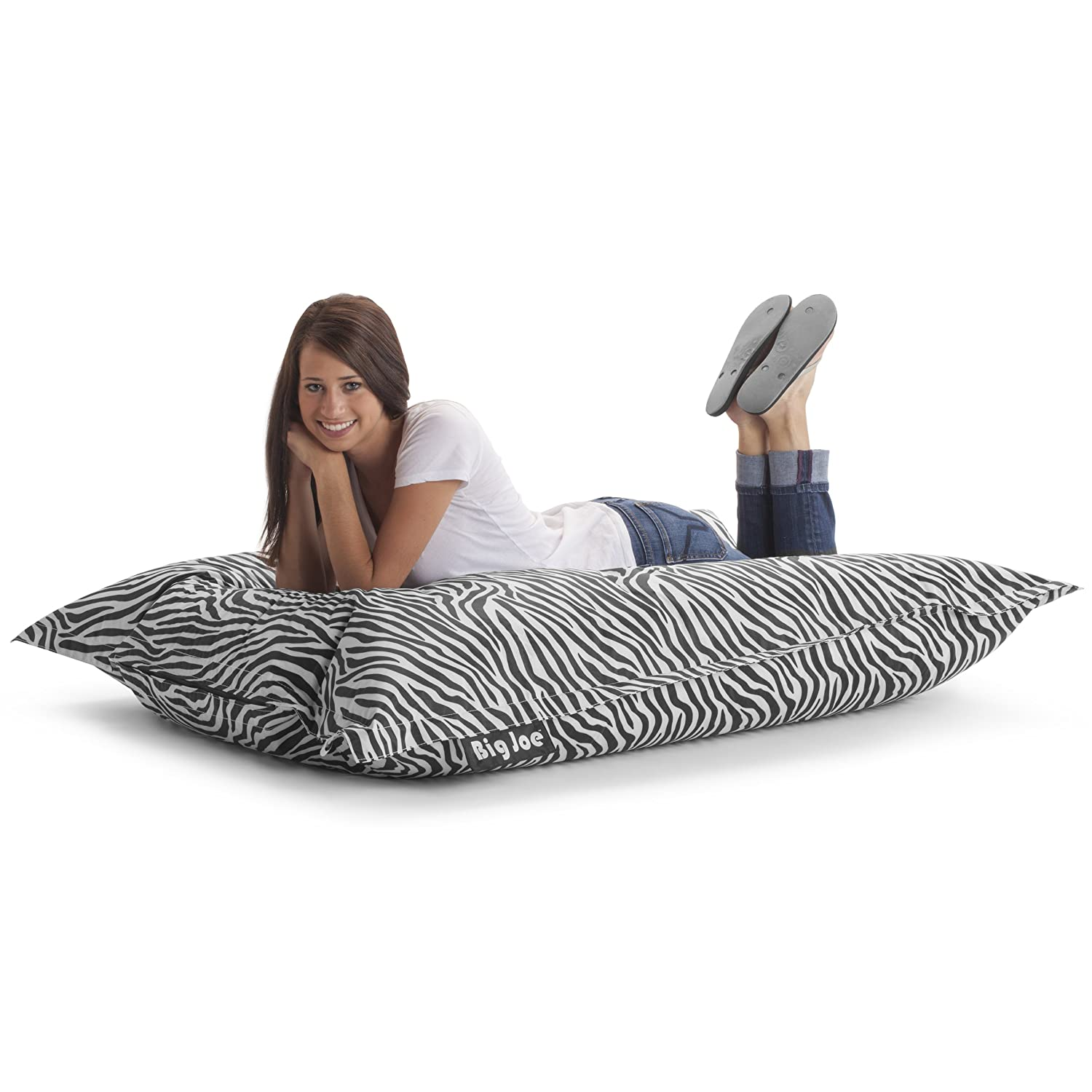 Amazon.com: Big Joe Original Bean Bag Chair, Zebra: Kitchen