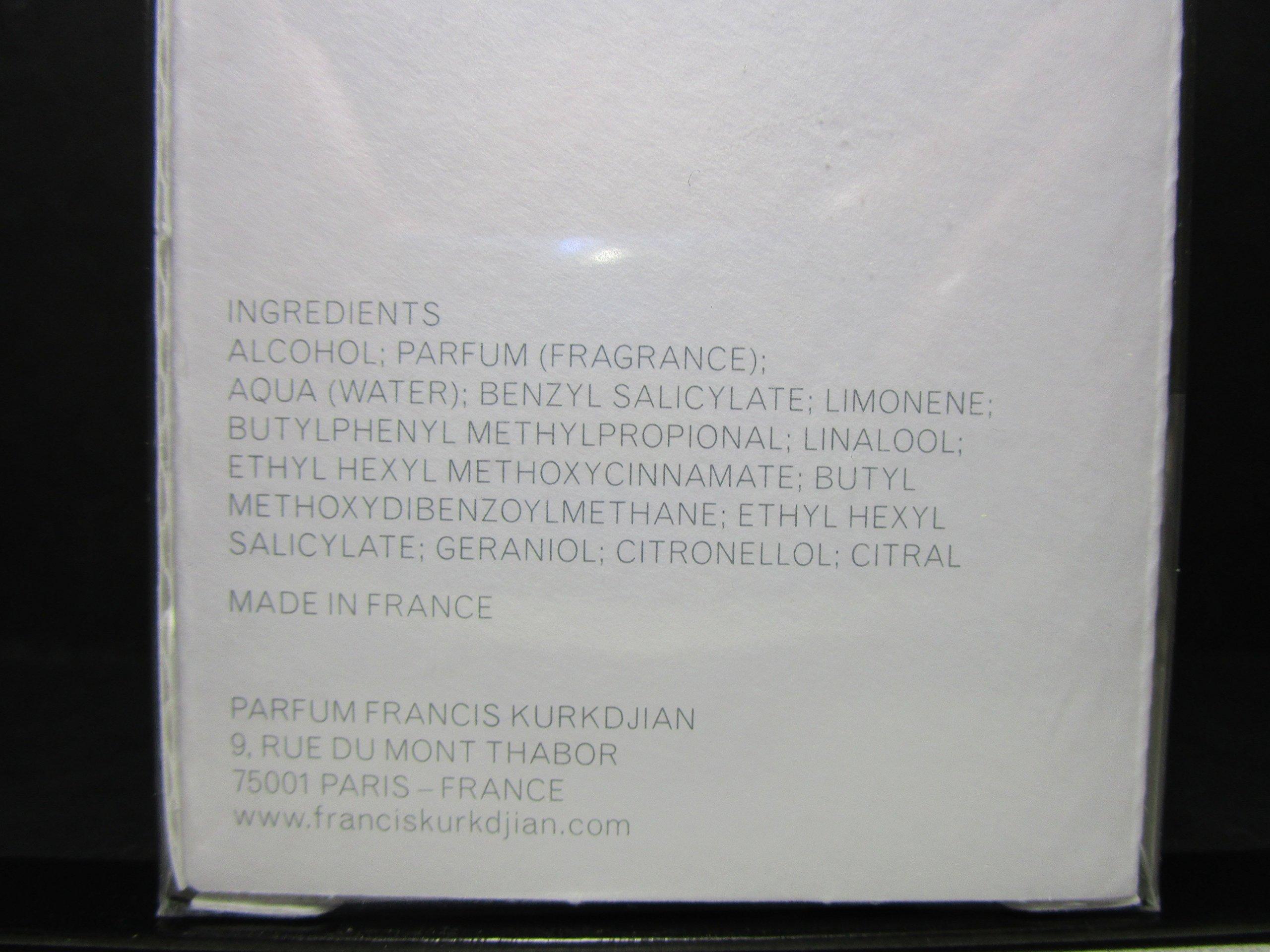 Maison Francis Kurkdjian Aqua Universalis Spray, 6.8 Ounce by Maison Francis Kurkdjian (Image #3)