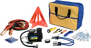 Performance Tool 60220 Premium Roadside Emergency Kit With Jumper Cables