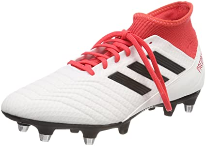 quality design c61be d34f2 ... ireland adidas predator 18.3 sg football boots adult white black real  coral b9b61 a9d87