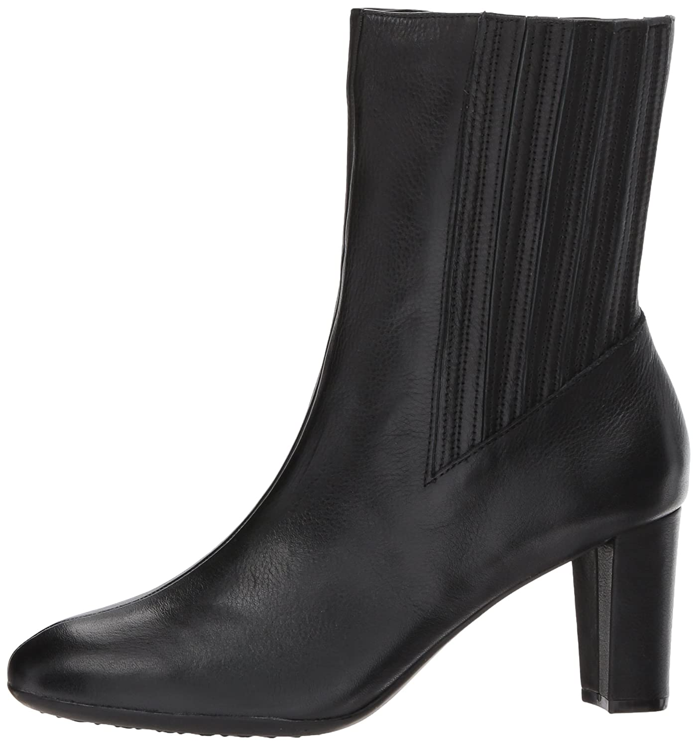 Aerosoles Women's Fifth Ave Mid Calf Boot B0753QRW2K 5.5 M US|Black Leather