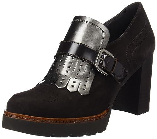 Gadea Silk, Zapatos de Tacón con Punta Cerrada para Mujer, Negro (Black), 37 EU
