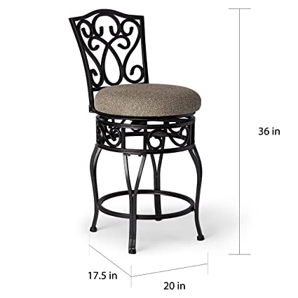 Awesome Amazon Com Svitlife Chase 24 Inch Swivel Counter Stools Gmtry Best Dining Table And Chair Ideas Images Gmtryco