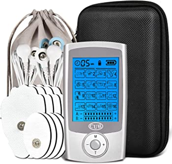 CUH Rechargeable TENS Unit 16 Modes Electronic Pulse Massager
