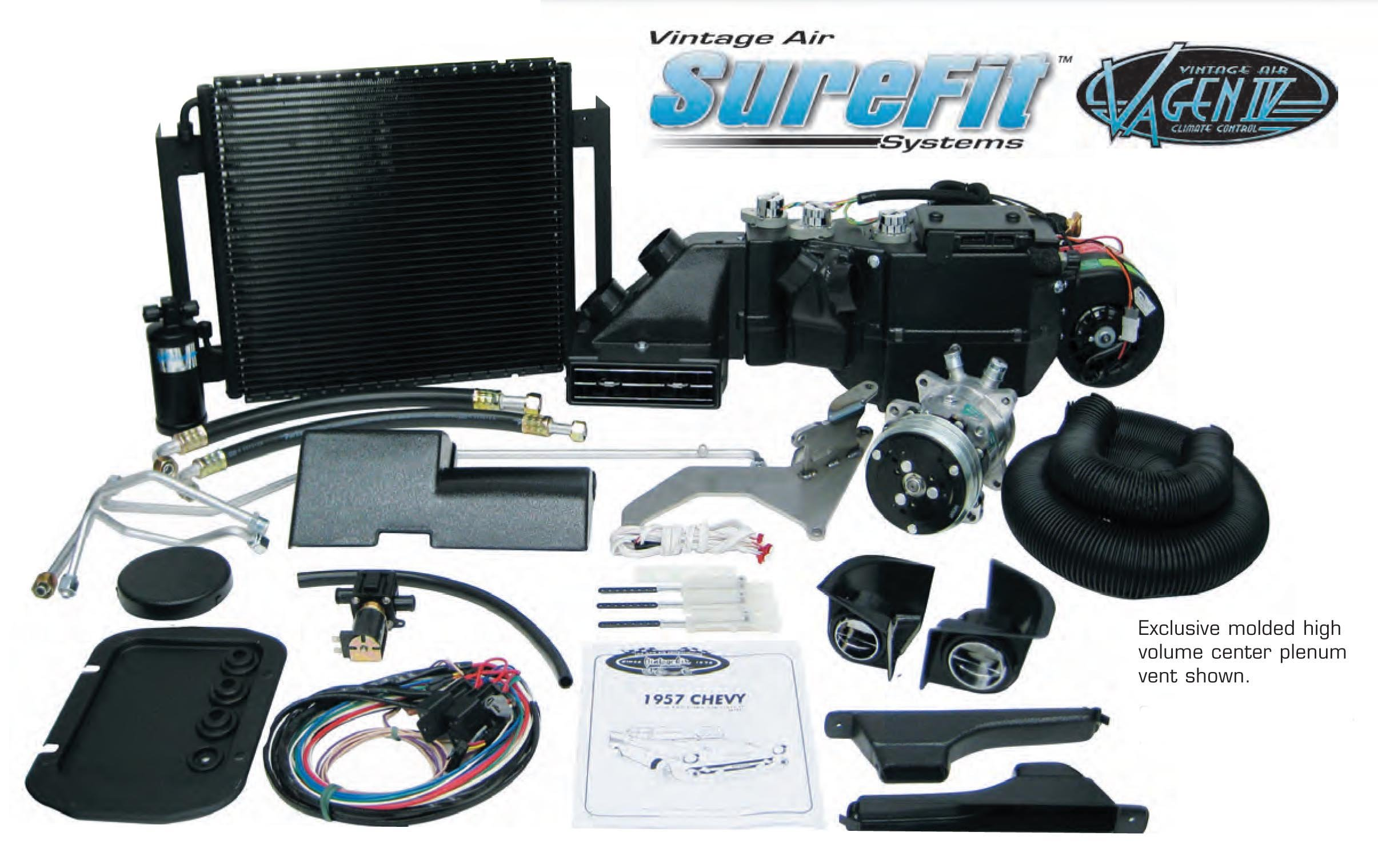 Vintage Air 96155-PCU Air Conditioning Complete Kit (55-56Chevy)