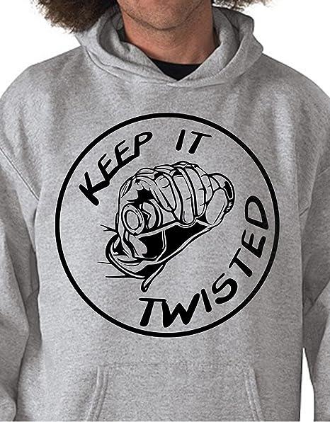 Sudadera con Capucha Keep It Twisted – Moto Velocidad – Todas Las Tallas by tshirteria,