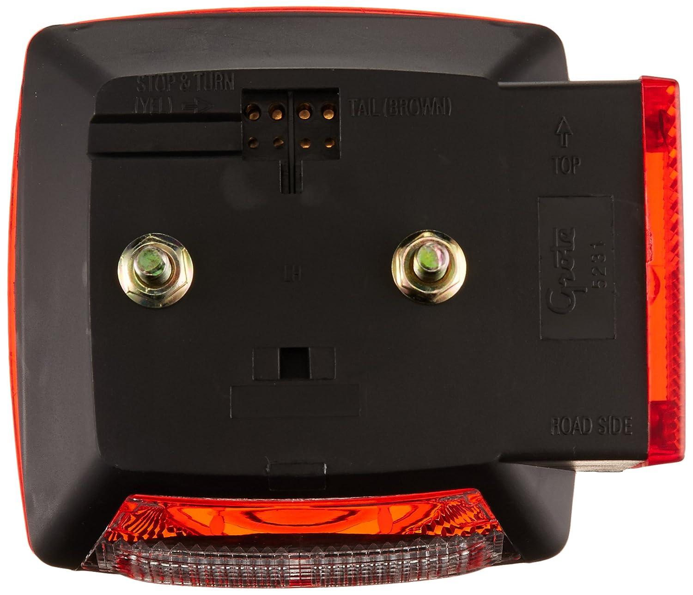 LH Stop Tail Turn Replacement Grote 52312-5 Trailer Lighting Kit