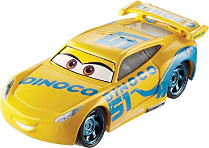 Amazon Com Disney Pixar Cars 3 Dinoco Cruz Ramirez Die Cast