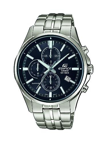 Casio Reloj Cronógrafo para Hombre de Cuarzo con Correa en Acero Inoxidable EFB-530D-