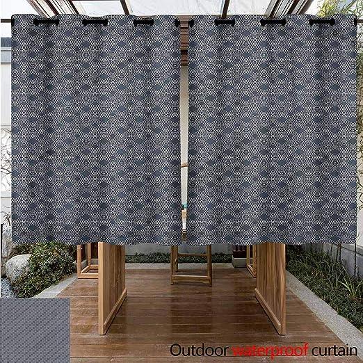 Sunnyhome Cortina de Puerta corredera Japonesa con diseño de Carpa sobre Bandera, Impermeable, Panel de Puerta de Patio: Amazon.es: Jardín