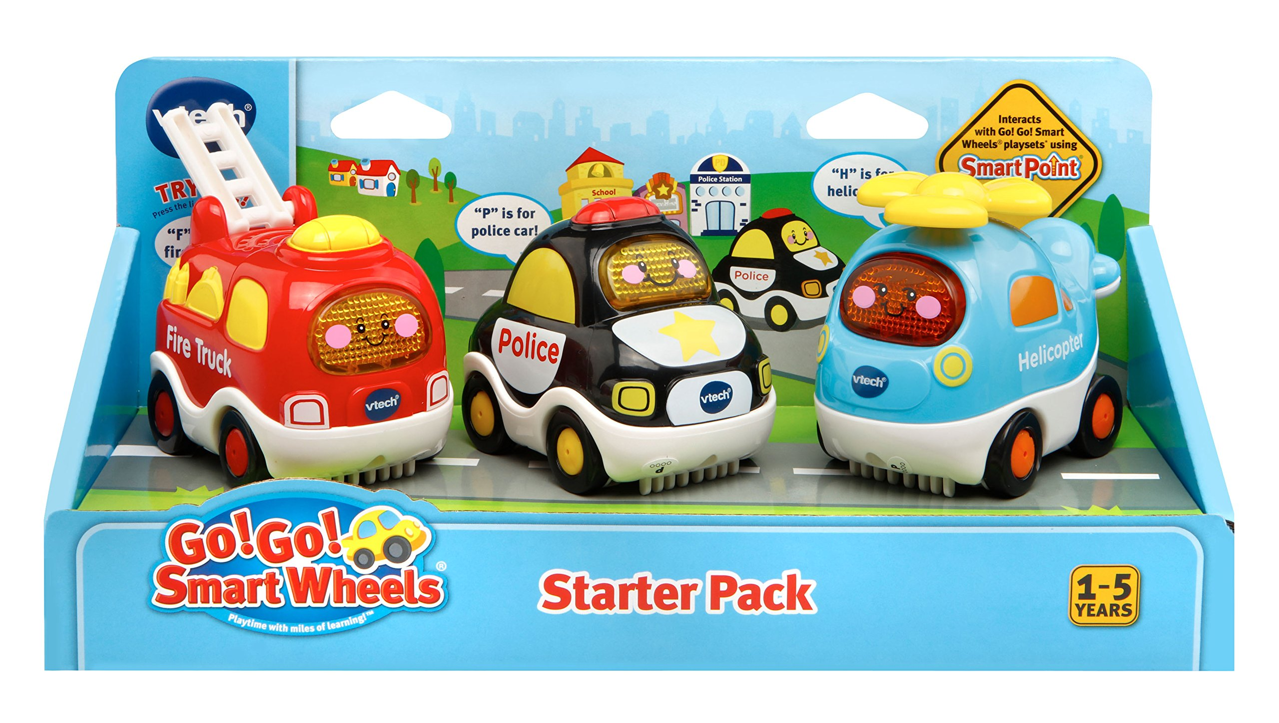 VTech Go! Go! Smart Wheels Starter Pack, Set of 3 by VTech (Image #2)
