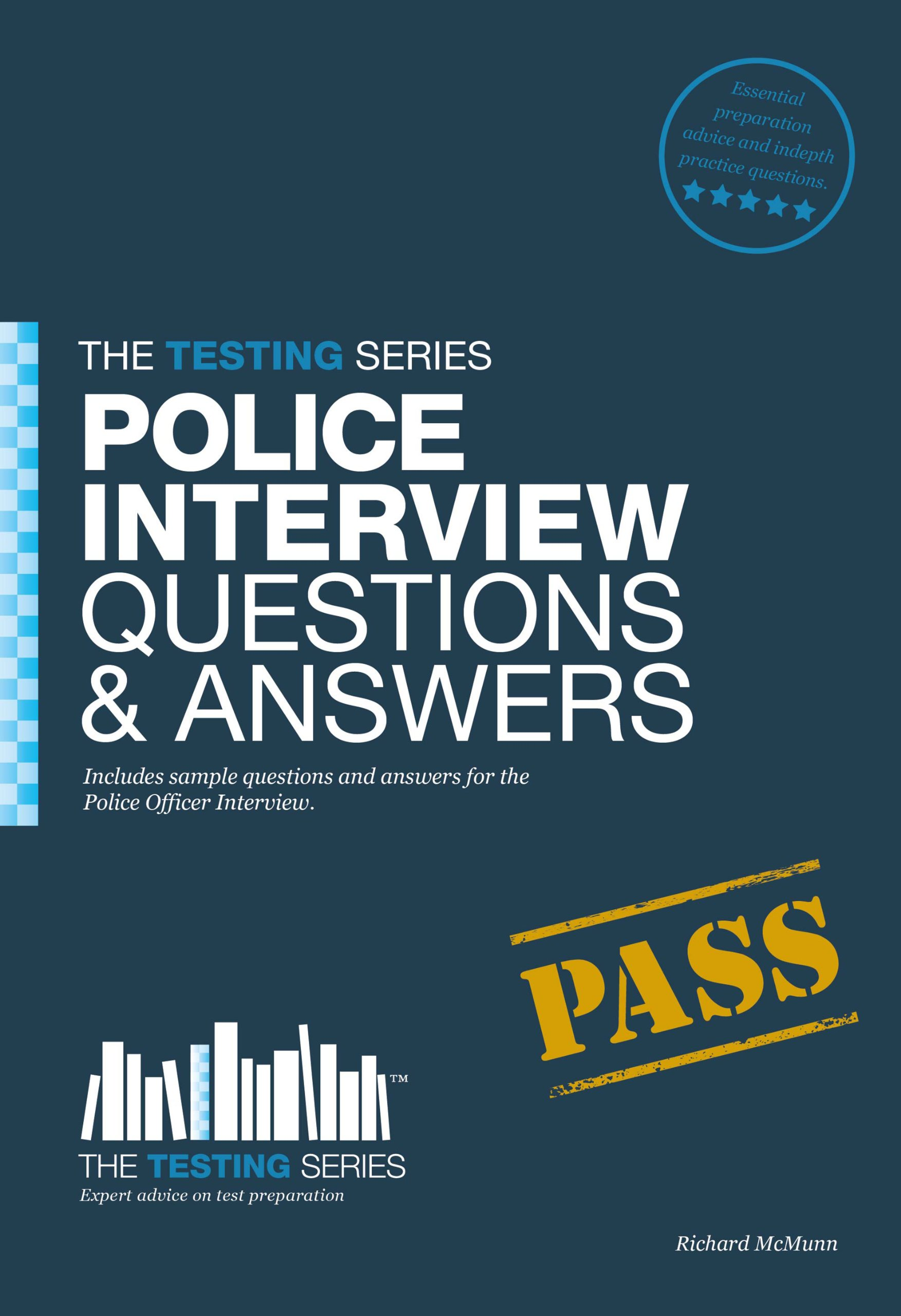 police officer interview questions and answers workbook testing police officer interview questions and answers workbook testing series amazon co uk richard mcmunn books