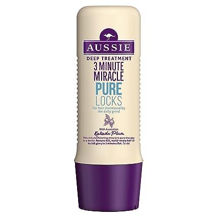 Aussie 3 Minute Miracle Pure Locks Tratamiento - 250 ml