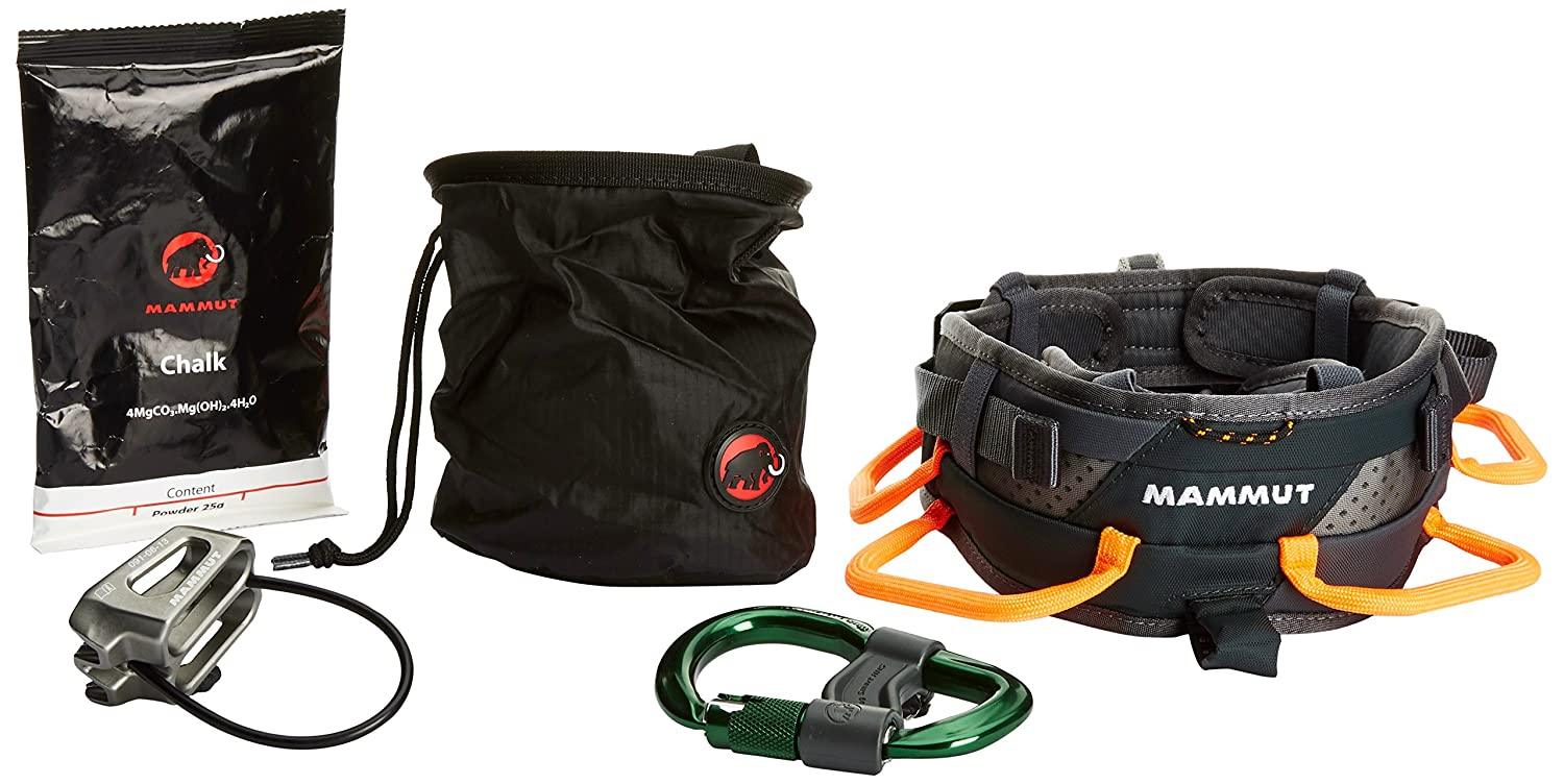 Mammut Klettergurt Ophir Speedfit : Mammut ophir slide climbing package harness black small