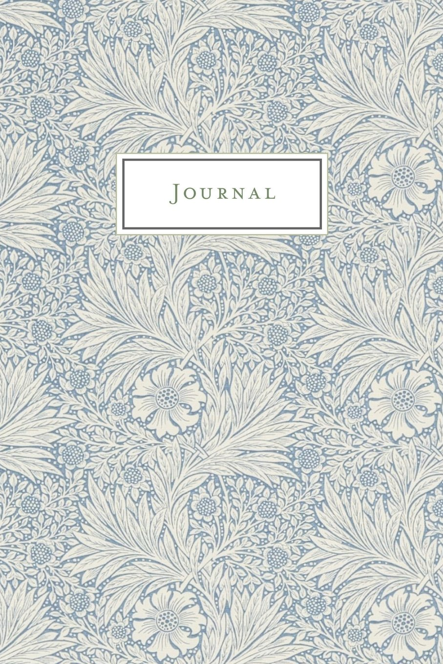 Journal: Vintage Floral Design - Journal, Notebook, Diary /(College Ruled/) /(Inglés/) Pasta blanda – 31 mar 2018 1986863743 NATURE // Plants // Flowers