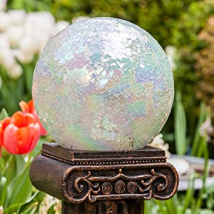 10 inch Mosaic Colorful Gazing Ball for Garden Decor