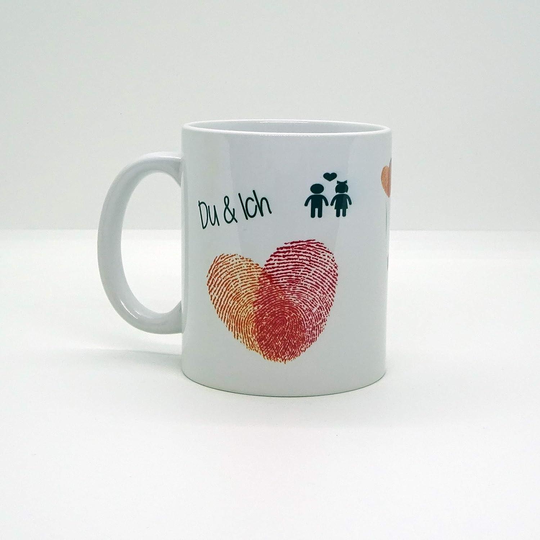 Kaffeebecher ~ Tasse Wenn ich mein Leben ~ Liebe~ Weihnachten Valentinstag Geschenk