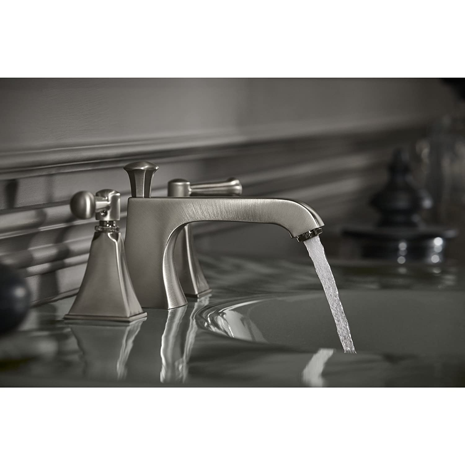 Kohler K 454 4s Bn Memoirs Widespread Lavatory Faucet With