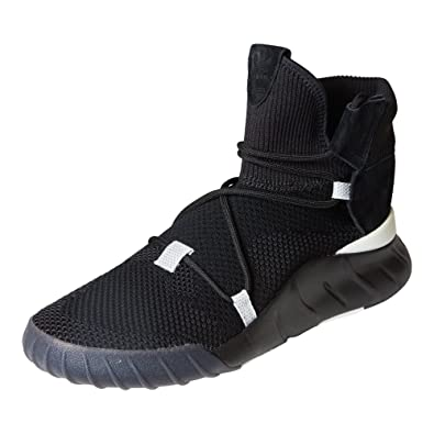adidas Originals Men's Tubular X 2.0 PK Sneaker, Utility Black/White, 5 Medium